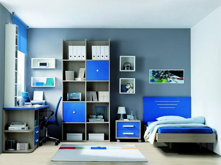 Habitacion azul23 - Habitaciones de color azul ...