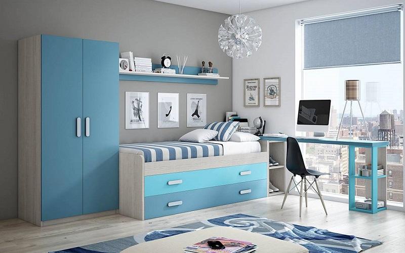 Habitacion azul29 - Habitaciones de color azul ...