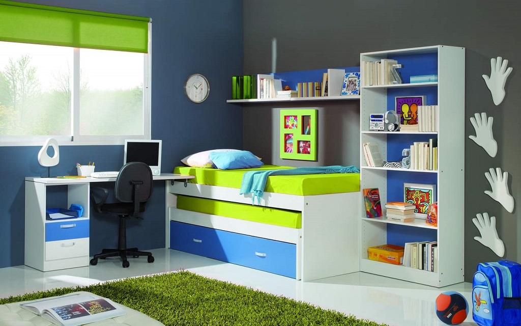 Habitacion azul34 - Colores para pintar habitacion juvenil ...