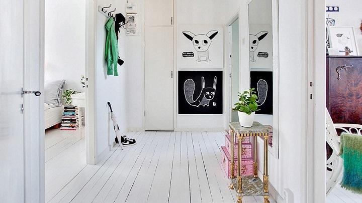 Fotos de recibidores de estilo n rdico - Recibidor nordico ...
