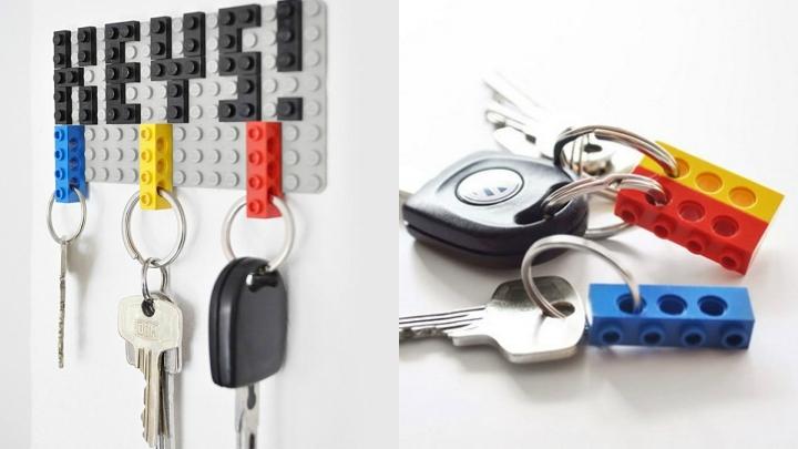 DIY-colgador-llaves-LEGO