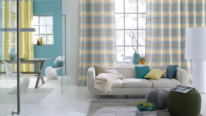 Cu ndo escoger cortinas estampadas for Cortinas estampadas