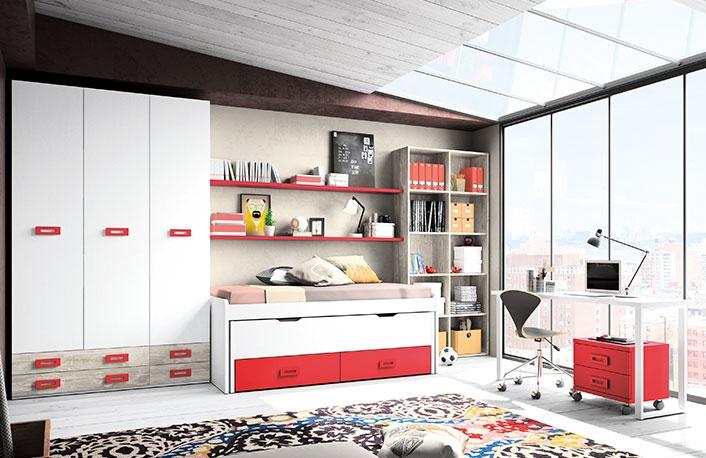 Habitacion rojo38 - Fotos de habitaciones decoradas ...