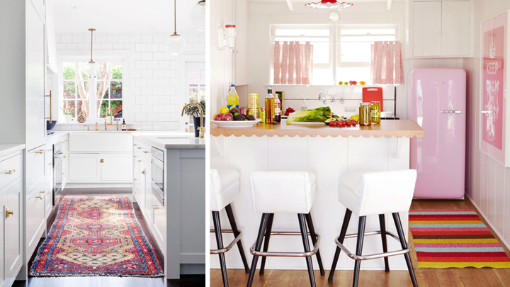 Las mejores alfombras para decorar la cocina for Alfombras de cocina