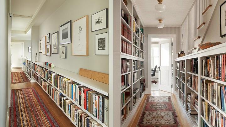 Consejos e ideas para que el pasillo parezca m s ancho for Pasillos con encanto