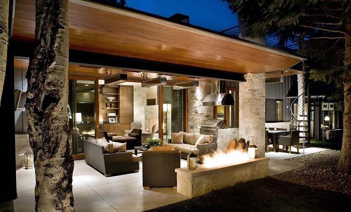 Tipos de techos para la terraza for Techos para patios exteriores