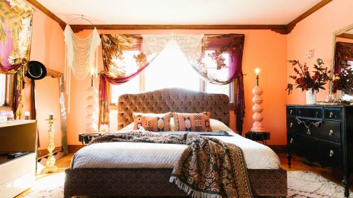 Casa-bohemia-California-dormitorio