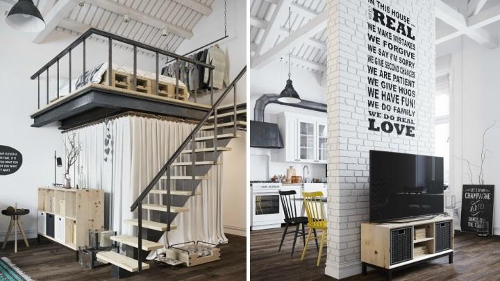 Decoracion estilo loft free perfect decoracin loft with for Decoracion estilo loft