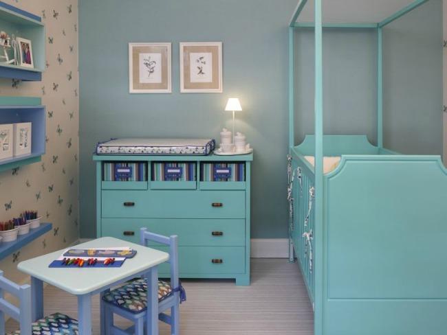 Habitacion bebe azul14 - Habitacion infantil azul ...