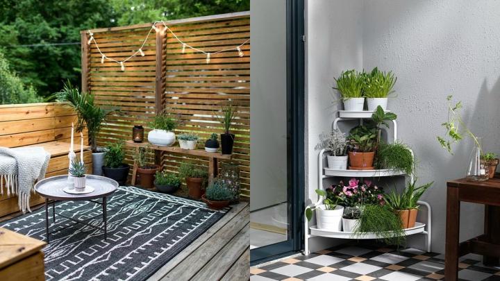 Jardineras terraza las jardineras son un elemento ideal para crear divisiones en los ambientes - Como cerrar una terraza uno mismo ...
