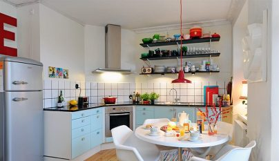 Ideas para decorar una cocina comedor for Ideas para cocina comedor pequenos