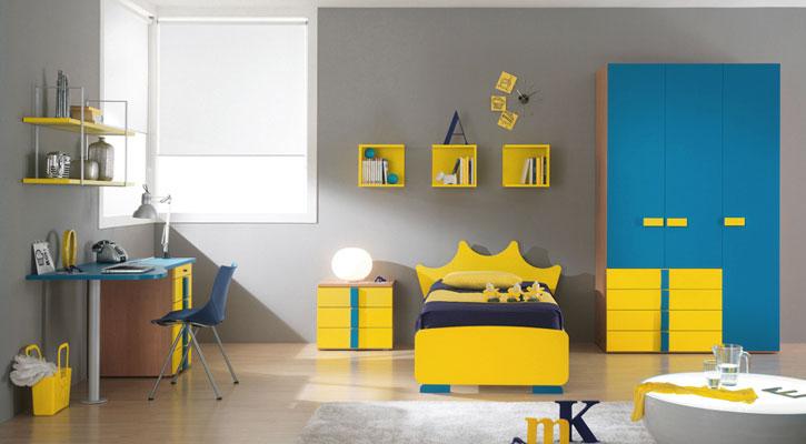 Habitacion amarilla23 - Habitaciones infantiles decoradas ...