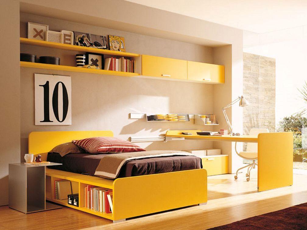 Habitacion amarilla35 for Imagenes de habitaciones decoradas