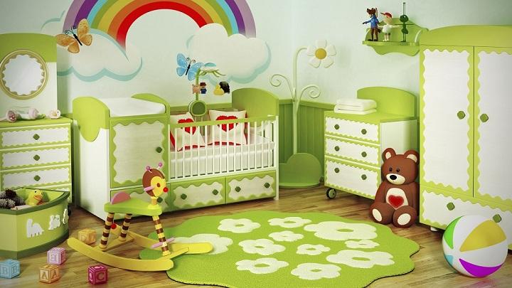habitacion-bebe-verde-foto