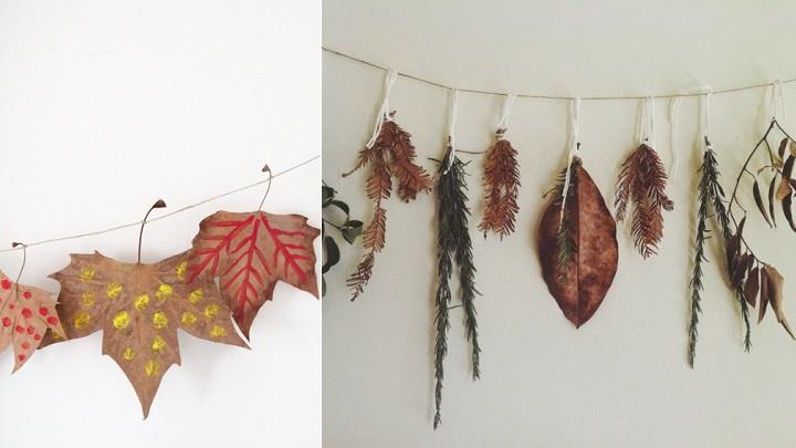 Decorablog revista de decoraci n for Decoracion con hojas secas