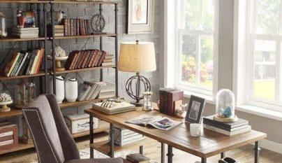 Ideas para decorar un despacho con estilo r stico for Disenar un despacho