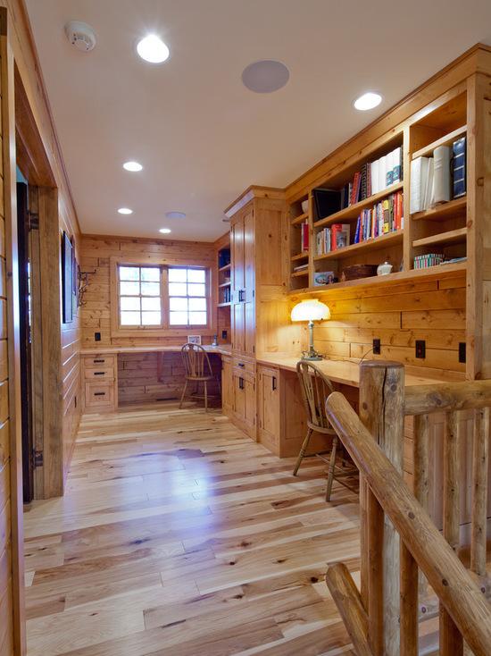 Despacho estilo rustico 11 - Ideas para decorar despacho abogados ...
