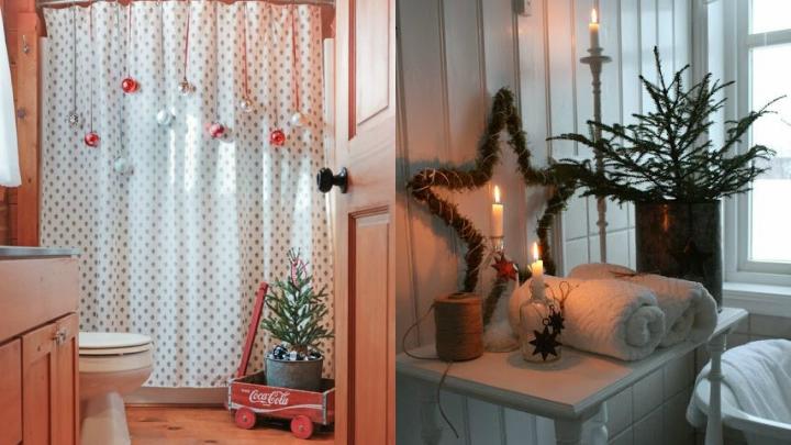 Ideas-decoracion-bano-Navidad