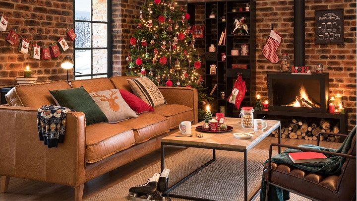 maisons du monde cat logo de navidad 2017. Black Bedroom Furniture Sets. Home Design Ideas