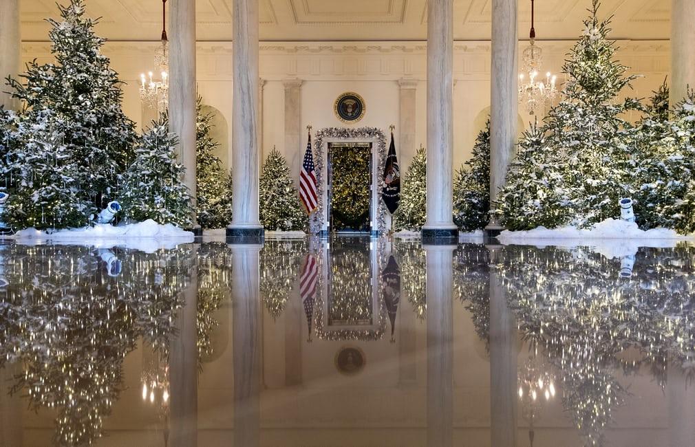 Decoracion navidad casa blanca 1 for Decoracion casa navidad