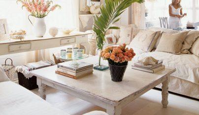 Casa con estilo chic industrial for Decoracion salon 2018