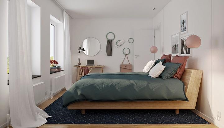 dormitorio-con-colgadores