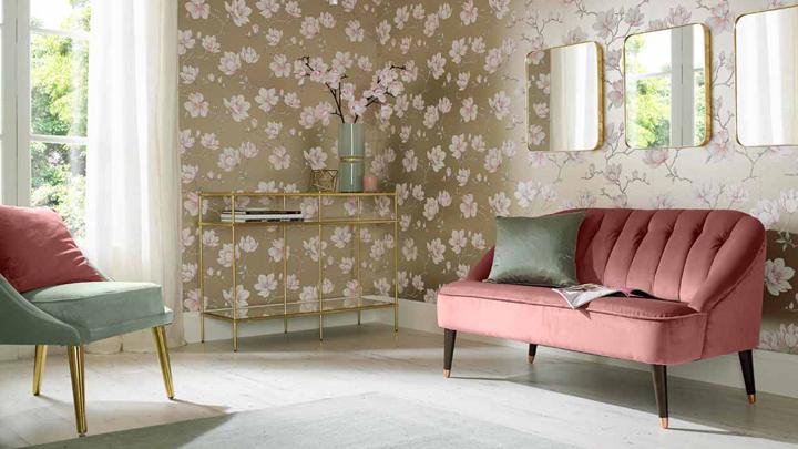 papel-pintado-salon-eclectico-sofisticado-glam