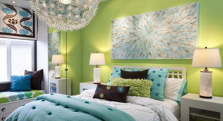 pared-habitacion-verde