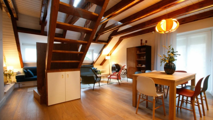Duplex-Benasque-escalera