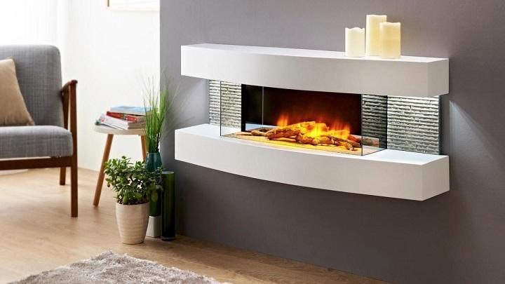 Consejos para elegir una chimenea el ctrica - Mueble para chimenea electrica ...