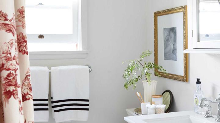 decorar-bano-cuadros-plantas