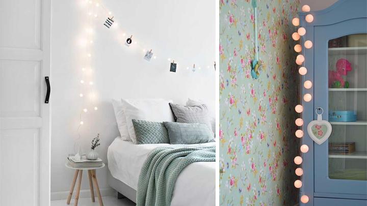 guirnalda-luces-decorar-casa-dormitorio