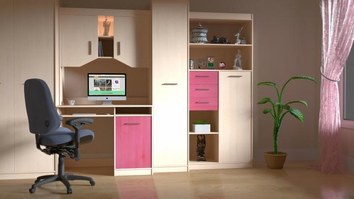 habitacion-rosa