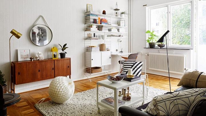 Consejos e ideas para decorar un piso de menos de 40 for Decorar un salon de 40 metros cuadrados