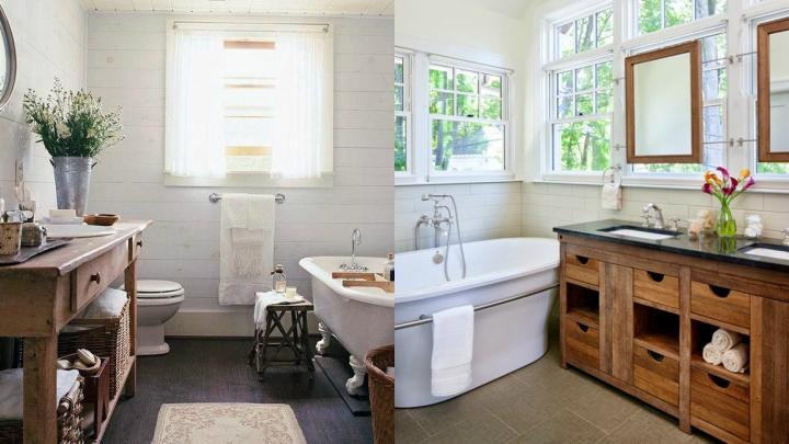 muebles-madera-bano