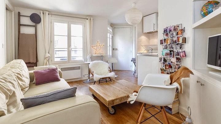 Consejos e ideas para decorar un piso de menos de 40 metros cuadrados