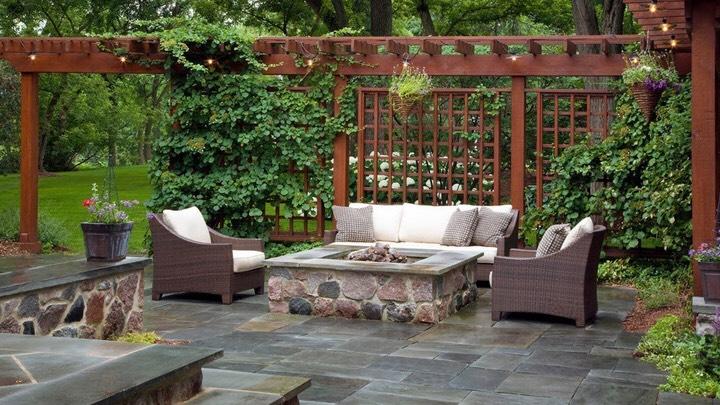 Los mejores suelos para la terraza - Piedra suelo exterior ...