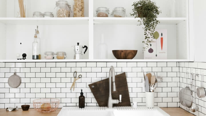 Bonito Cocina Baño Kompact Tocador Motivo - Ideas Del Gabinete de ...