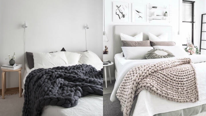 mantas-punto-gordo-cama