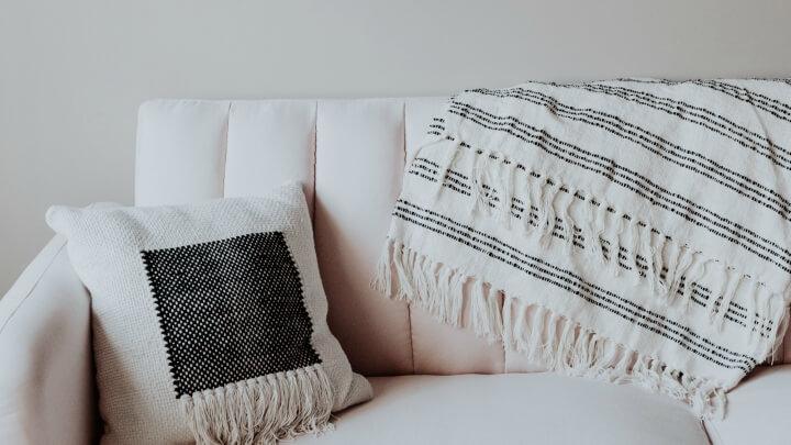 plaid-sofa