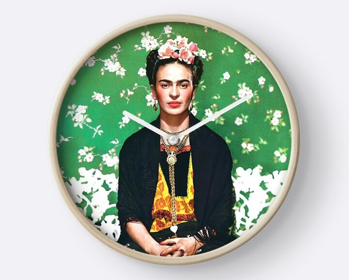 reloj-de-pared-Frida-Kahlo