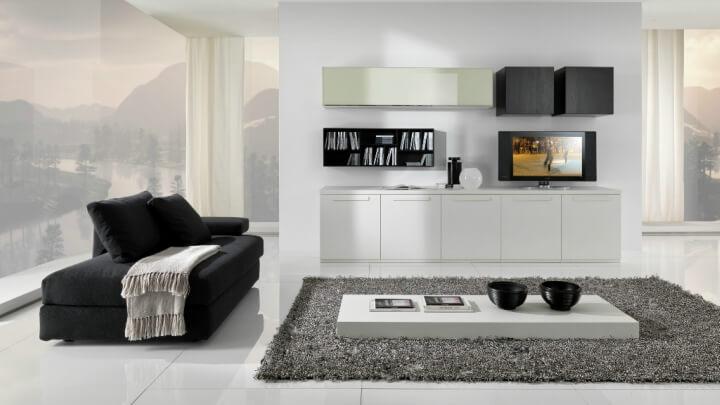 salon-minimalista-blanco-y-negro