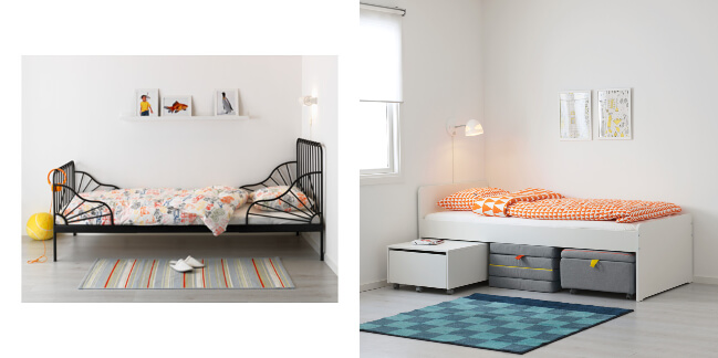 Ideas de decoraci n infantil de ikea for Cama nino ikea