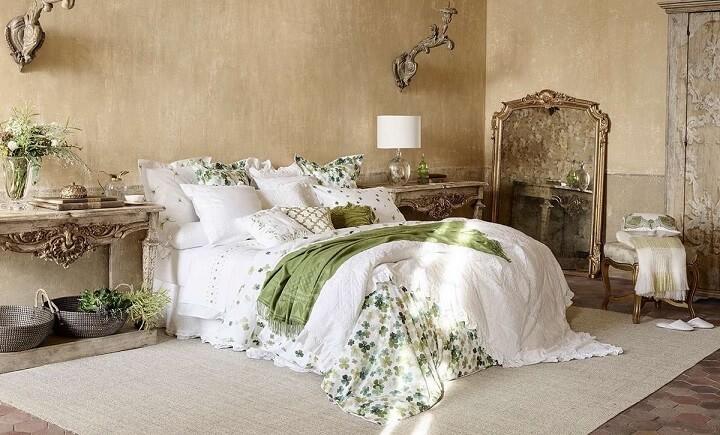 dormitorio-verde-y-blanco