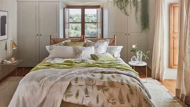 dormitorio-verde-y-marron