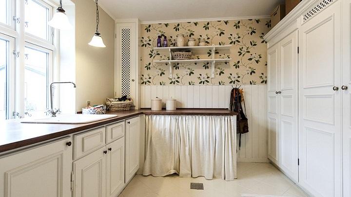 cocina-blanca-de-madera