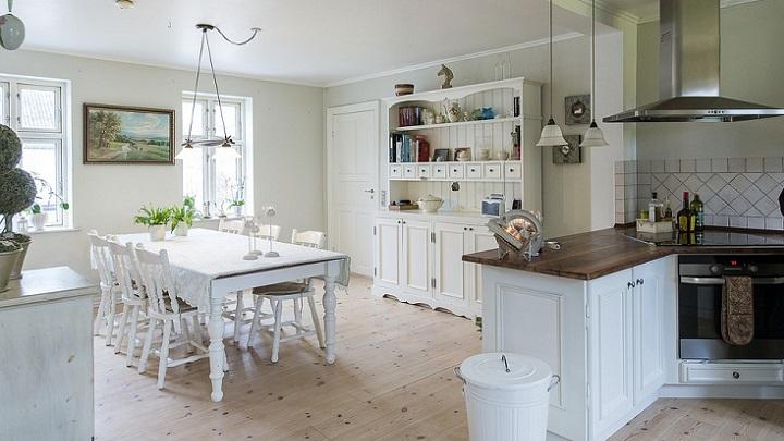 cocina-de-color-blanco