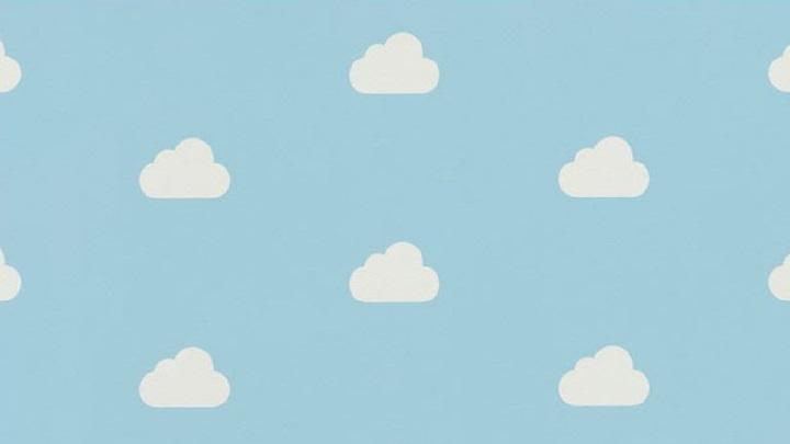 papel-pintado-nubes