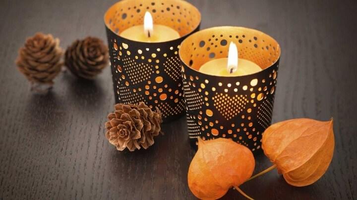 ecoracion-con-velas