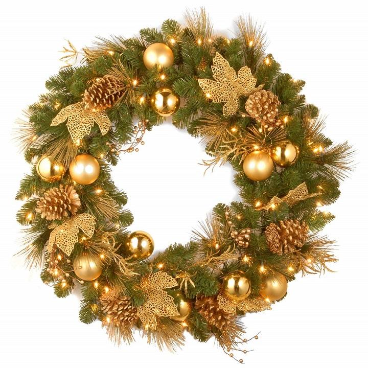 corona-de-Navidad-floes-doradas